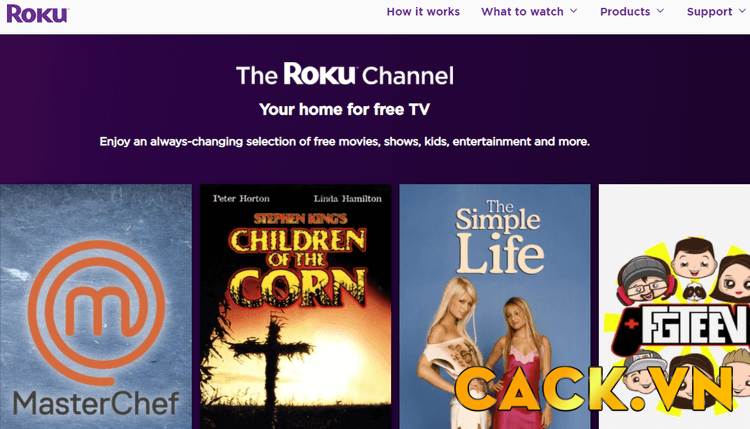 Xem phim trực tuyến miễn phí trên Roku