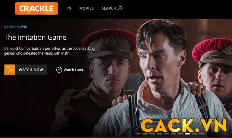 Xem phim trực tuyến miễn phí trên Crackle