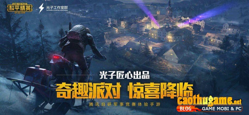 Tải xuống PUBG Mobile Trung Quốc