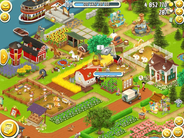 Game nông trại cho trẻ em gái