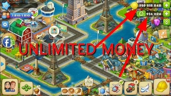 Tải xuống Game Township MOD cho Android