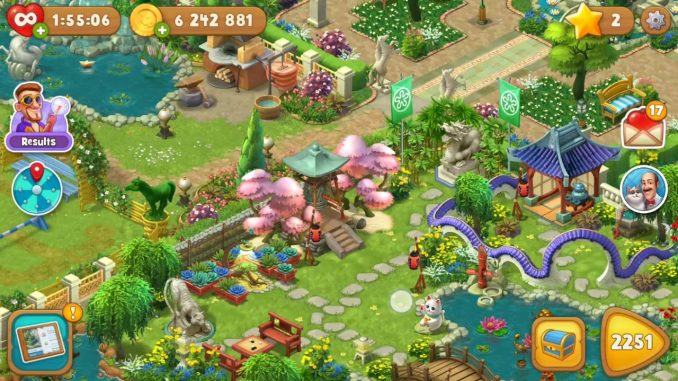 Gardenscapes MOD dành cho Android
