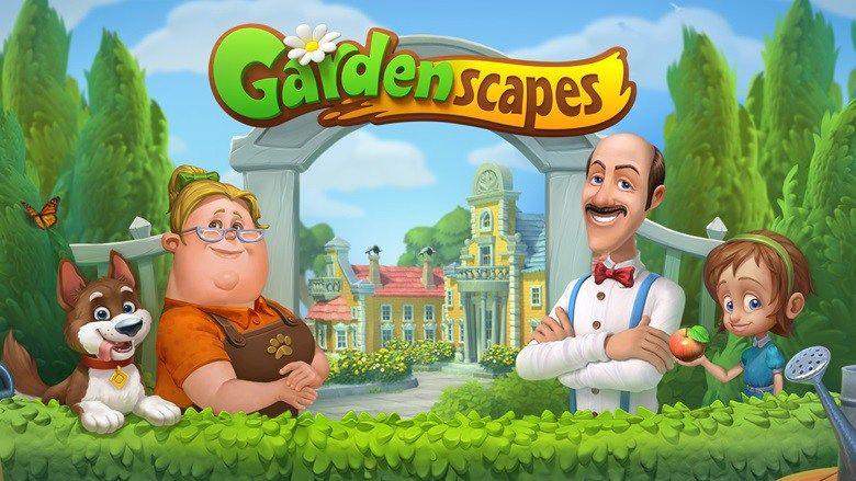 APK của Gardenscapes MOD