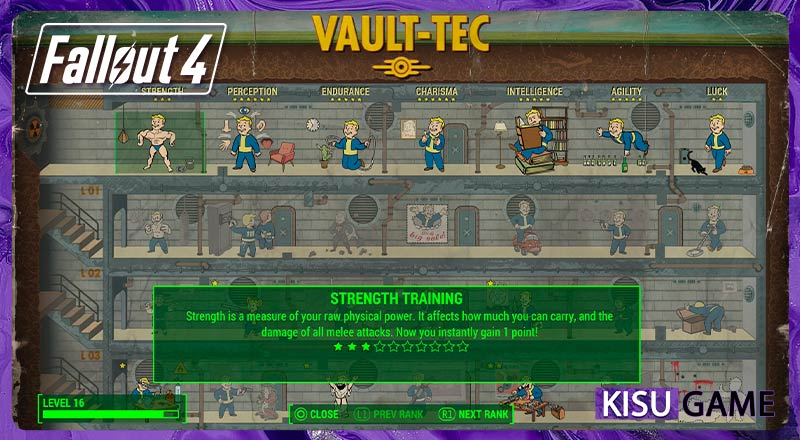Fallout 4 - Xem lại lối chơi với tính năng ĐẶC BIỆT mới