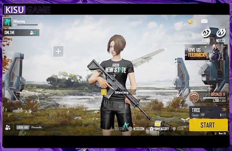 PUBG: Game Bang mới với giao diện mới