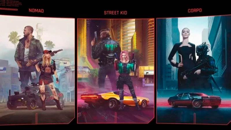 Đánh giá Cyberpunk 2077 với 3 đường sống: Nomad, Street Kid, Coprorate