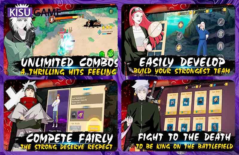 Will of Shinobi - Game anime chiến đấu hay trên di động Naruto năm 2021