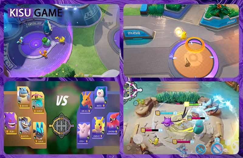 Game anime đồ họa đẹp Pokémon Unite Mobile 2021