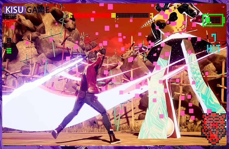 Gameplay của No More Heroes 3 siêu đẹp mắt và sống động