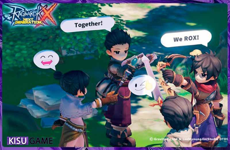 Tìm một nhóm để cùng nhau huấn luyện quái vật cũng là một cách để lên cấp nhanh chóng trong Ragnarok X: Next Generation