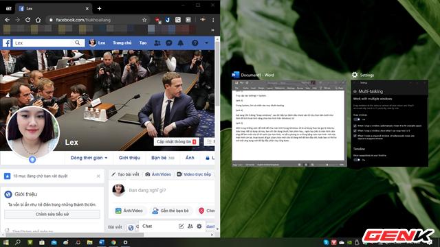 Windows 10 có chức năng chia màn hình giống như trên macOS, thậm chí còn linh hoạt hơn - Hình 5.