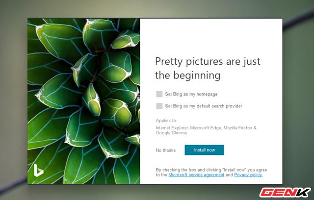 Microsoft đã phát hành ứng dụng Bing Wallpaper với hình ảnh stock khổng lồ cho Windows 10 - Ảnh 3.