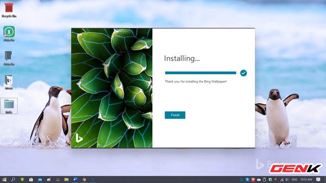 Microsoft đã phát hành ứng dụng Bing Wallpaper với một kho hình ảnh khổng lồ cho Windows 10 - Ảnh 5.