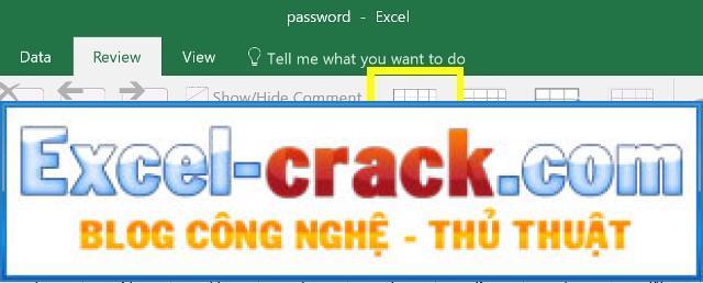 Bảo vệ Trang tính trên Microsoft Excel 2016