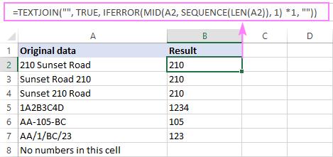 Cách lọc văn bản khỏi ô dữ liệu trong Excel