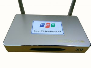 Android tivi box FPT X9