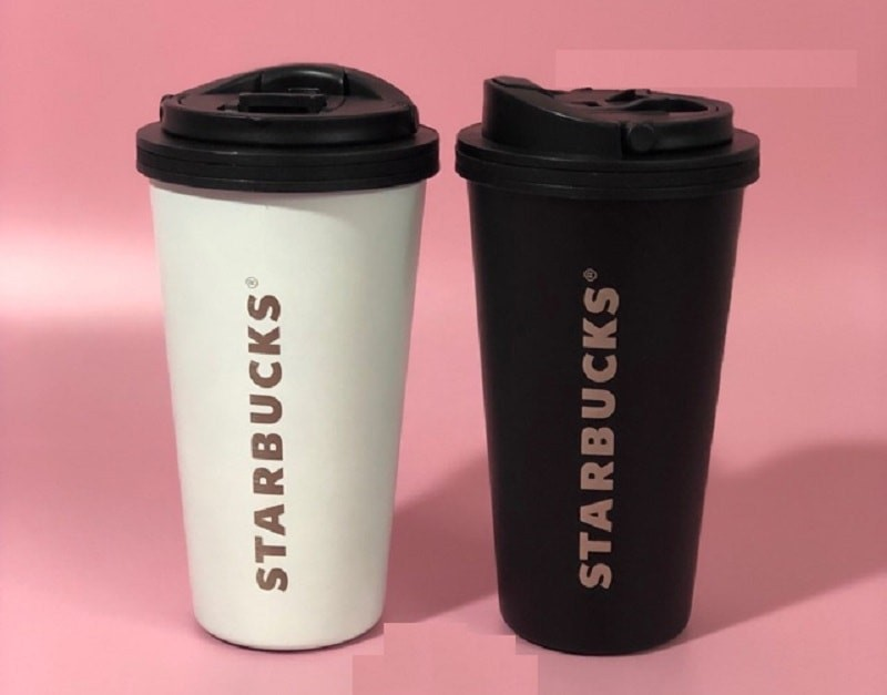 Ly giữ nhiệt Starbucks Heritage Stainless Steel Cup 473ml