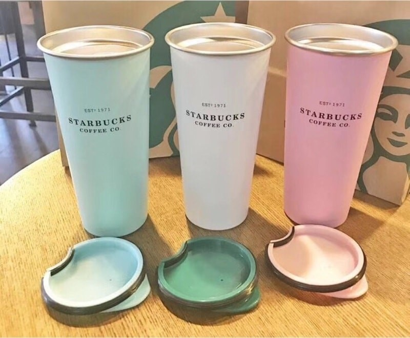 Ly giữ nhiệt Starbucks Matte Coffee Est 1971 stainless steel 473ml