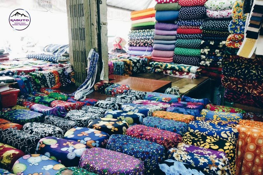 Where to buy cheap signed fabric in HCMC?