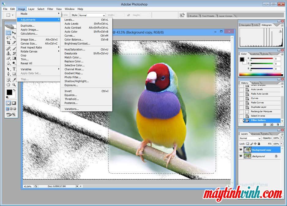 Photoshop CS2 có phần mềm cho Windows 7