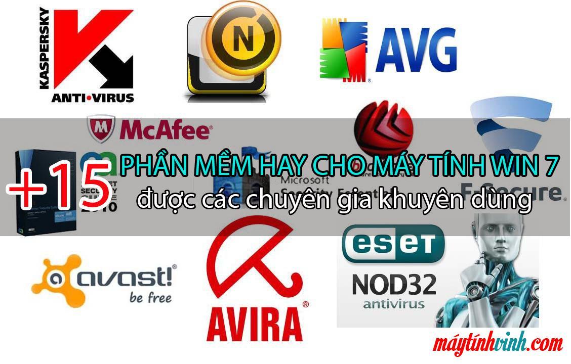 Review 15 Phan mem hay cho may tinh win 7