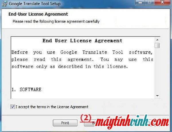 """Tôi chấp nhận các điều khoản trong Thỏa thuận cấp phép -> Tiếp theo"""" style=""""width: 600px;"""" title=""""Tôi chấp nhận các điều khoản trong Thỏa thuận cấp phép -> Tiếp theo""""></p> <p><b>Bước 3</b> : Tiếp theo, bạn chọn vào <b><span>lưu thư mục</span></b>    -> chọn nhập <b><span>kế tiếp</span></b>    để tiếp tục.</p> <p style="""