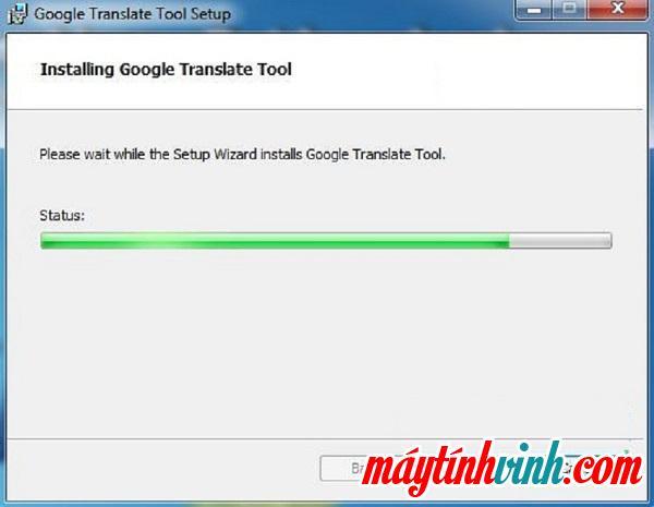 Công cụ Google Dịch này sẽ cài đặt trên máy tính của bạn