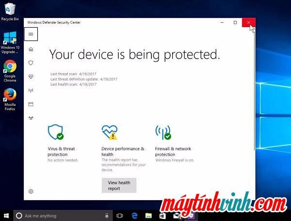 Phần mềm Windows Defender