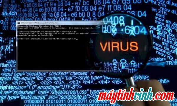 Quét vi-rút khi máy tính chạy chậm bất thường