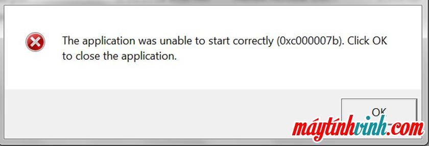 Lỗi 0xc00007b là gì?