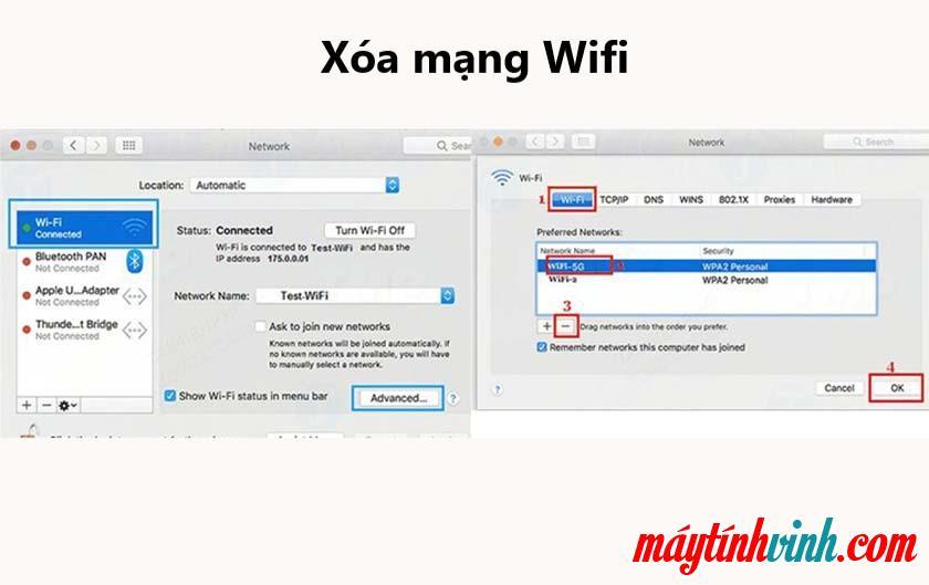 Macbook Wifi bị lỗi card