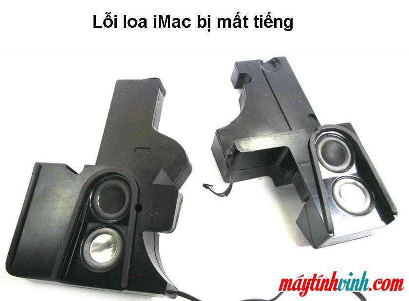 iMac lỗi loa không có âm thanh