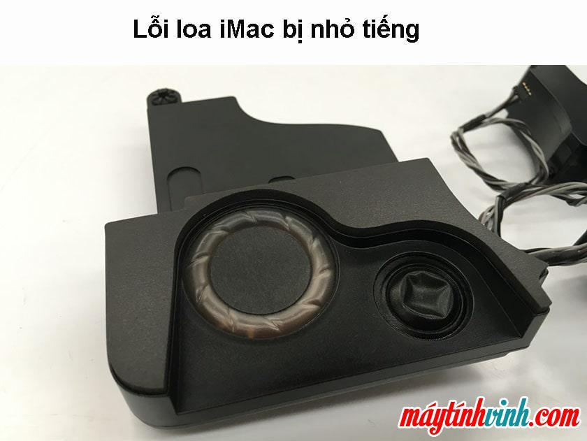 iMac lỗi loa êm hơn bình thường