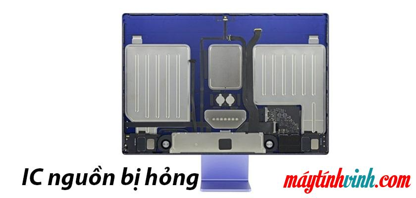 iMac sập nguồn do IC nguồn của máy bị hỏng
