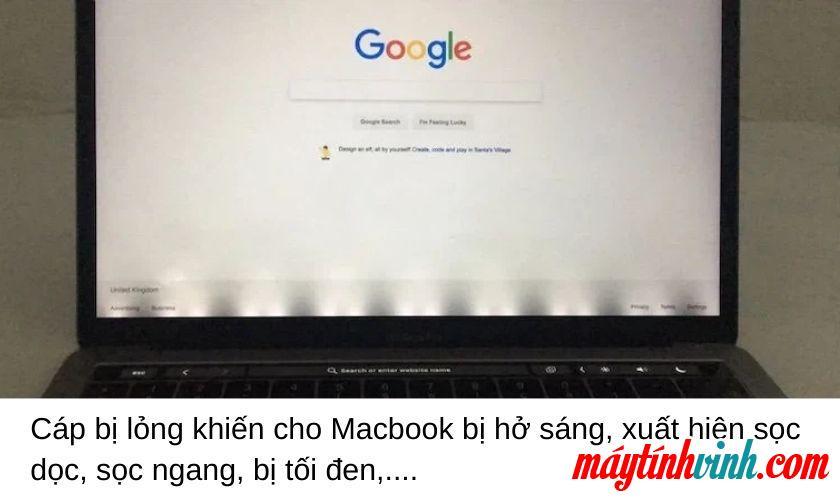 Cáp màn hình Macbook bị lỗi