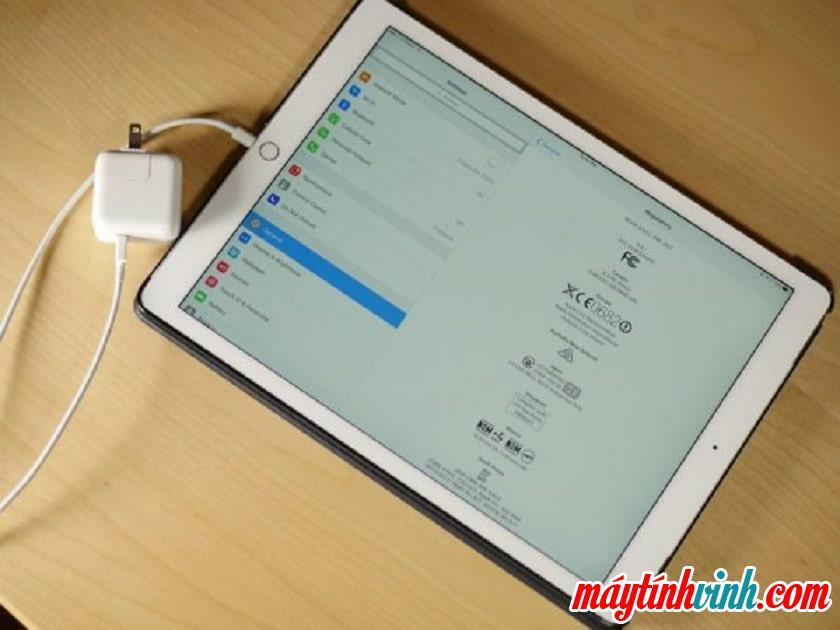 Khắc phục hiện tượng iPad sạc không vào pin hiệu quả