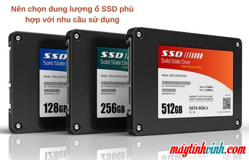 Trước khi nâng cấp ổ cứng SSD cần lưu ý