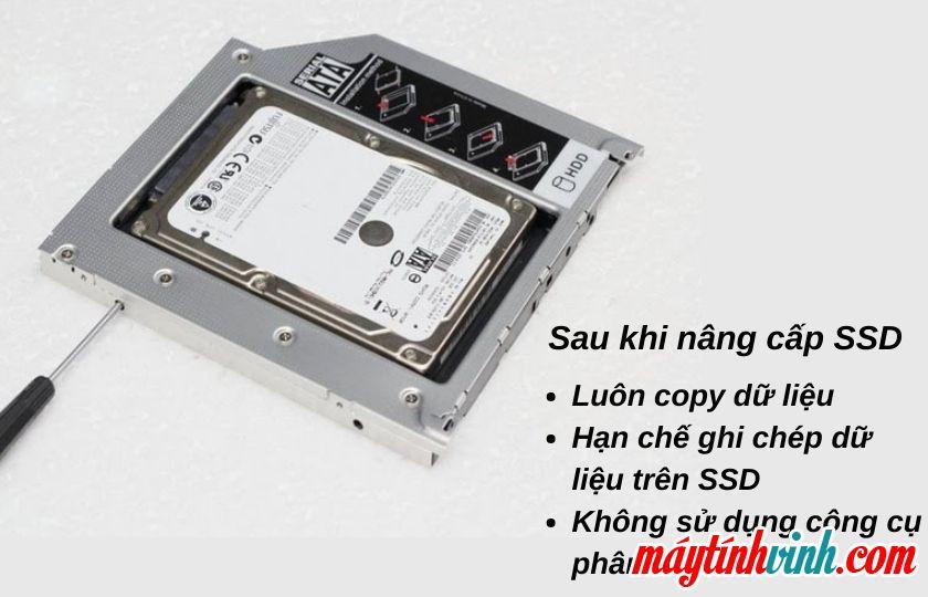 Sau khi nâng cấp SSD cho IMAC
