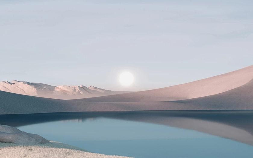 Hình nền phong cảnh Window 11 4K