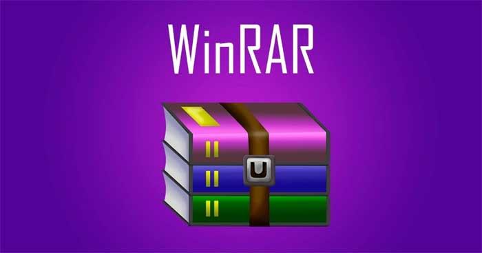 WinRAR.  phần mềm giải nén