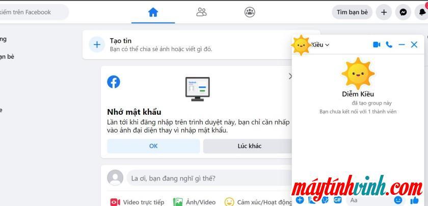 Cách gửi tệp qua Messenger trên máy tính