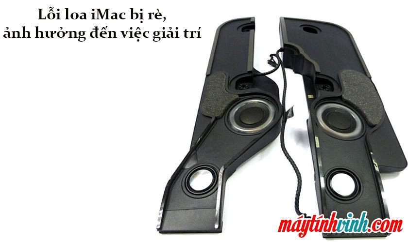 iMac lỗi loa bị nứt