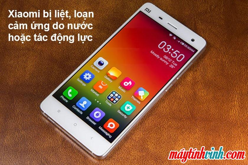 Nguyên nhân khiến điện thoại Xiaomi bị liệt, loạn cảm ứng