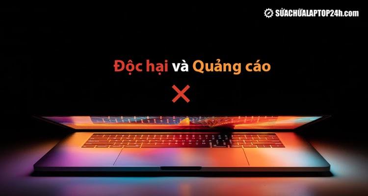 Xóa quảng cáo và chống vi-rút cho MacBook