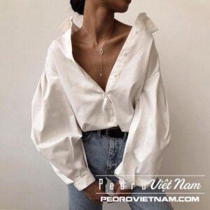 1001 cách phối áo sơ mi trắng với quần jean đẹp như fashionista