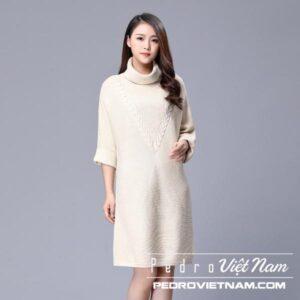 Đánh giá Top 10 mẫu đầm len thu đông đẹp điệu ấm áp