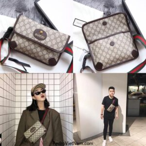 Một số kiểu túi đeo chéo nam chính hãng của Gucci