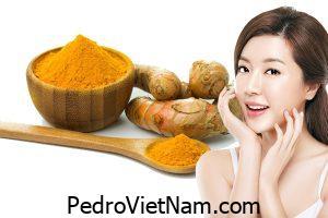 Nghệ ngâm rượu trị nám – bài thuốc quý của các chị em ™️ Pedro Việt Nam