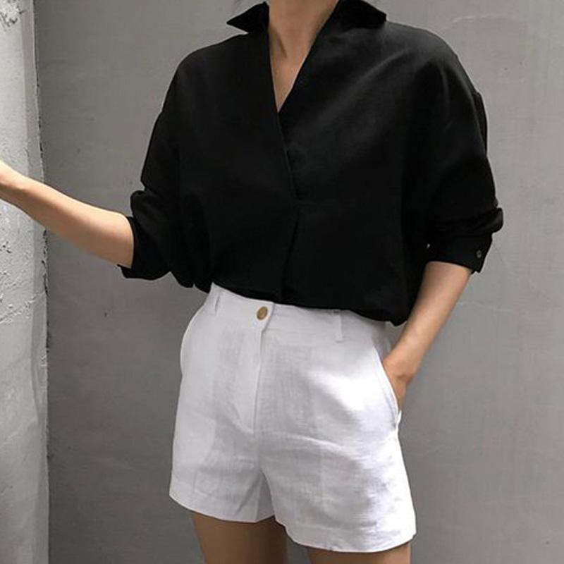 Quần short nữ vải linen với nhiều mẫu mã tôn dáng rất được yêu thích