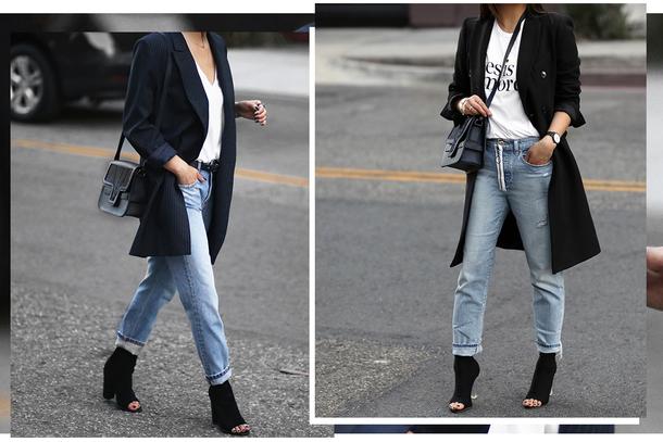 Phối cùng giày cao cổ nữ cực chất